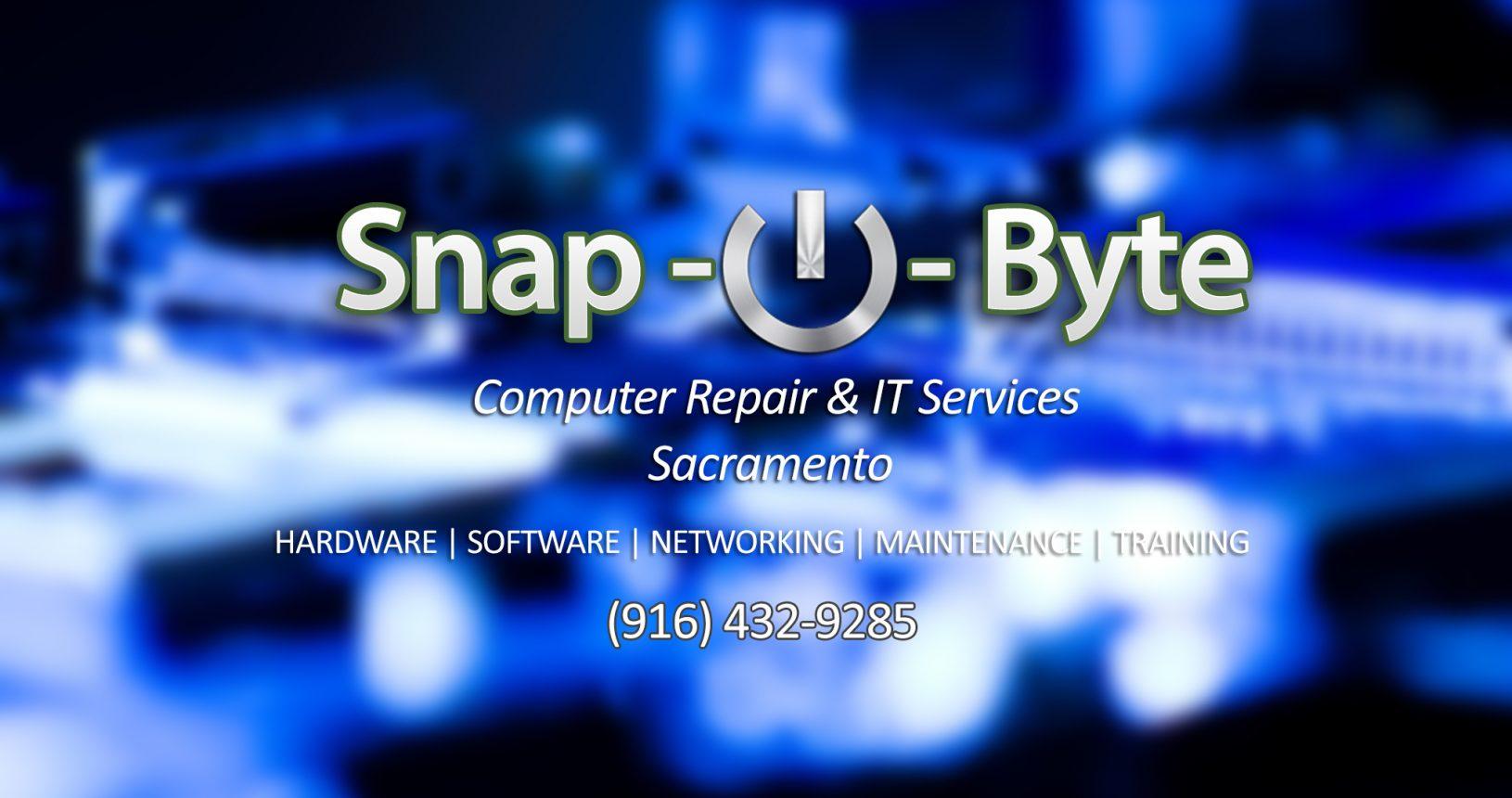 Snap-O-Byte Computer Repair & IT Services Sacramento